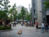 岡山 街頭のジャズセッション♪