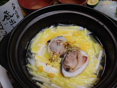 おかやま黄ニラ卵とじの完成
