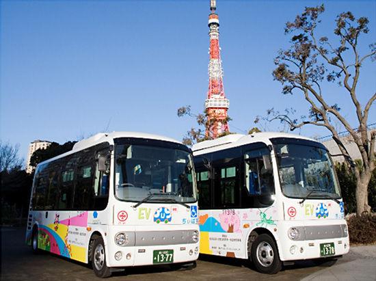 株式会社 東芝 : EVバスの実証運行