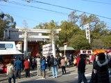 西宮神社の表大門(重要文化財)