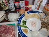 もち米シュウマイの材料