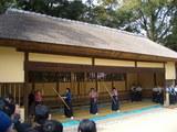 岡山後楽園の弓道射会 2008.3.2