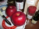ベイクドアップル(焼きリンゴ)の材料