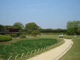 岡山後楽園で垣間見たセントラル・パーク 2008.4.21