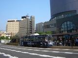 岡山のジーンズ路面電車 2008.5.26