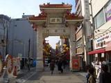 神戸中華街 南京町の長安門