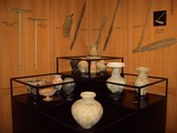 「津島遺跡」土器展示