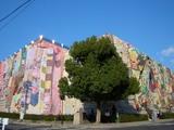 ハンカチアート 岡山県立美術館 (2008.11.21撮影)