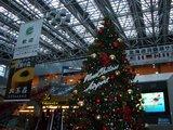 新千歳空港ターミナルビルのクリスマスツリー