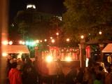 『西川夜市』のアカペラ by 岡ビル百貨店 2008.10.12