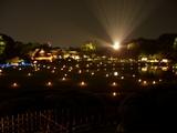 光の芸術 岡山後楽園の夕べ