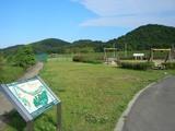 百間川のサッカーフィールド