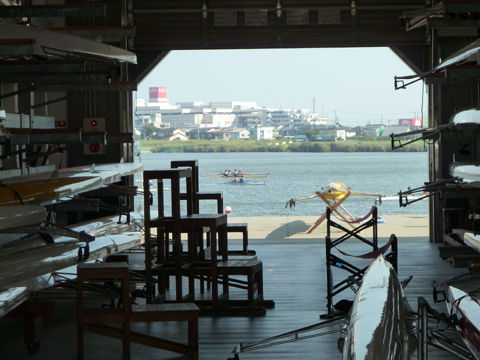 佐鳴湖ボート大会14
