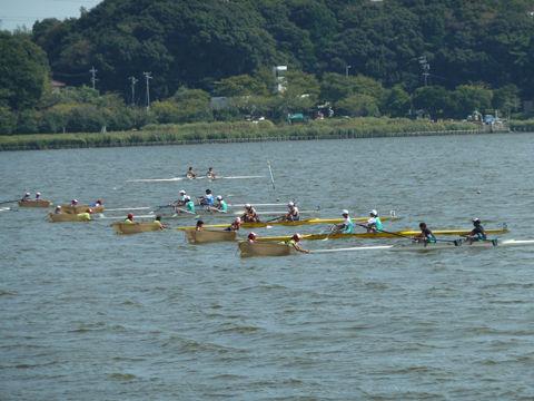佐鳴湖ボート大会2