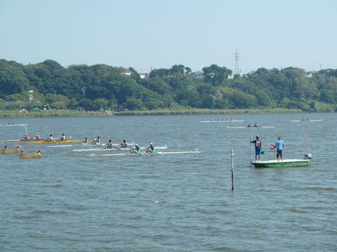 佐鳴湖ボート大会9