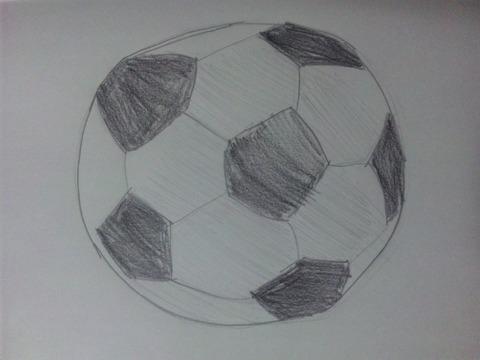 サッカーボールイラスト