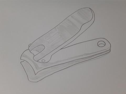 爪切りイラスト