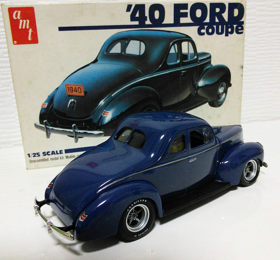 amt 1940 FORD coupe finished from JAPAN - Scale Auto