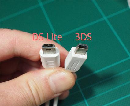 3ds 充電 器 代用