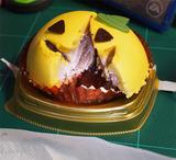 カボチャとチョコのケーキ