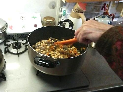 煮豆づくり