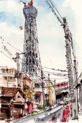 10東京スカイツリー