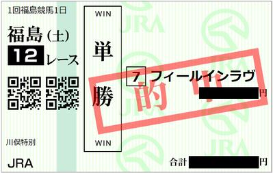 2019年4月6日福島12R
