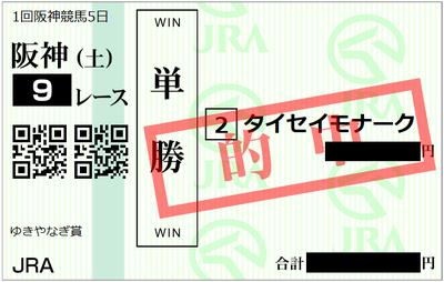 2019年3月9日阪神9R
