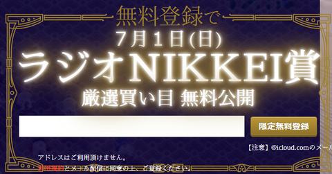 競馬学会ラジオNIKKEI賞