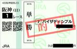 2018年9月9日阪神1R