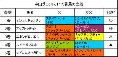 中山グランドジャンプ2018結果