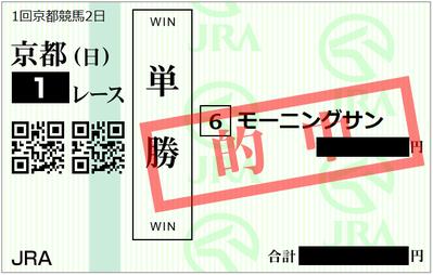 2019年1月6日京都1R