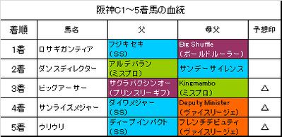 阪神カップ2015結果