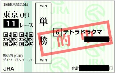 2018年2月12日東京11R