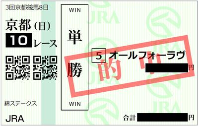 2019年5月12日京都10R