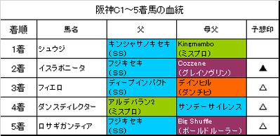 阪神カップ2016結果