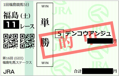 2019年4月20日福島11R
