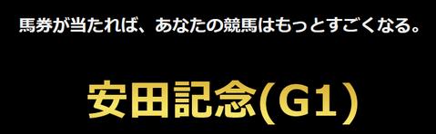 すごい競馬安田記念