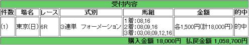 【馬券】<4月29日 雷>