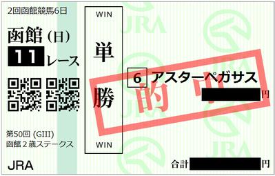 2018年7月22日函館11R