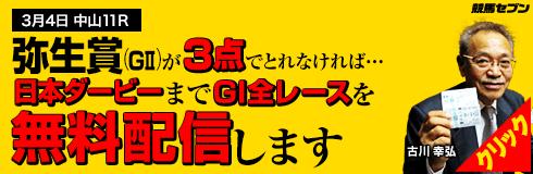 競馬セブン弥生賞