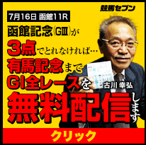 競馬セブン函館記念