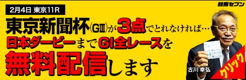 競馬セブン東京新聞杯