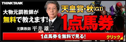 シンクタンク天皇賞秋