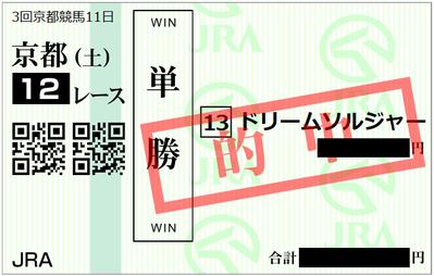 2019年5月25日京都12R