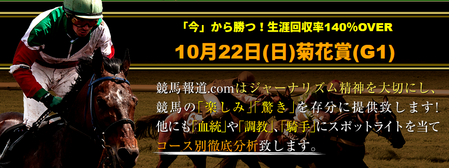 競馬報道菊花賞