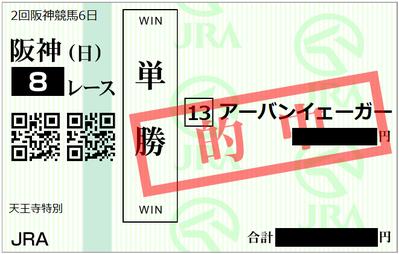 2019年4月7日阪神8R