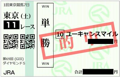 2019年2月16日東京11R