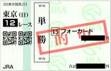 2018年4月22日東京12R