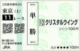 ◎クリスタルウイング 青葉賞(2008年)